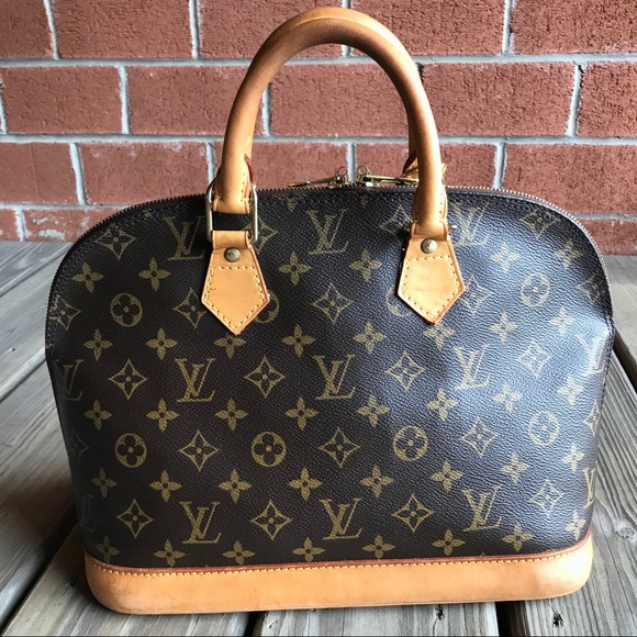Louis Vuitton Handbags - •SALE• Louis Vuitton Alma PM Monogram Satchel Bag